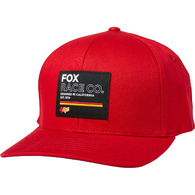 FOX RACING ANALOG FLEXFIT HAT [CHILI]