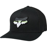 FOX RACING HEAD STRIKE FLEXFIT HAT [BLACK]