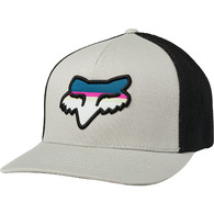 FOX RACING HEAD STRIKE FLEXFIT HAT [GREY]