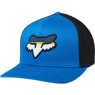 FOX RACING HEAD STRIKE FLEXFIT HAT [ROYAL BLUE]