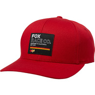 FOX RACING YOUTH ANALOG FLEXFIT HAT [CHILI]