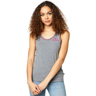 FOX RACING WOMENS LAPPED TANK [HEATHER GRAPHITE]