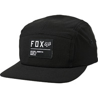 FOX RACING NON STOP PANEL HAT [BLACK/WHITE]