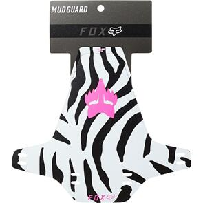 FOX RACING MUD GUARDS [ZEBRA]