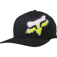 FOX RACING HONR FLEXFIT HAT [BLACK]