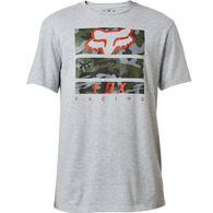 FOX RACING PICKUP SS TEE [LIGHT HEATHER GREY]