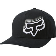 FOX RACING DIMMER FLEXFIT HAT [BLACK]