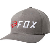 FOX RACING CUT OFF FLEXFIT HAT [PEWTER]