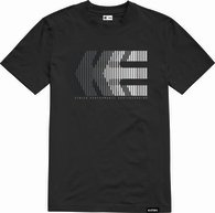 ETNIES AFTER BURN TEE [BLACK]