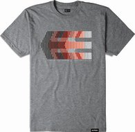 ETNIES AFTER BURN TEE [GREY/HEATHER]