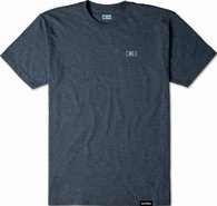ETNIES TOTEM EMB TEE [NAVY/HEATHER]