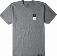 ETNIES EBLOCK STACK TEE [GREY/HEATHER]
