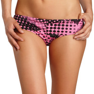 FOX RACING WOMENS SMASH BOOTY SHORT BIKINI BOTTOM [BUBBLEGUM]