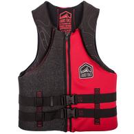 LIQUID FORCE 2019 HINGE CGA CLASSIC VEST BLACK RED