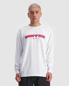 HUFFER LS SUP TEE/HFR CARDINAL WHITE