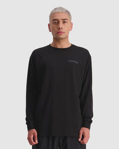 HUFFER LS SUP TEE/SHUTTER BLACK