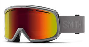 SMITH 21 RANGE CHARCOAL RED SOL-X MIRROR