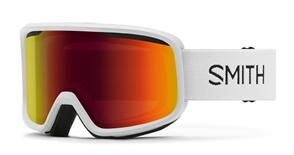 SMITH 2022 FRONTIER WHITE RED SOL-X MIRROR