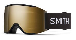 SMITH 2022 SQUAD MAG BLACK CHROMAPOP SUN BLACK GOLD MIRROR