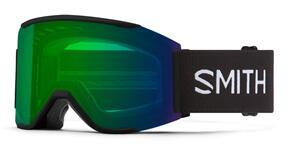 SMITH 2022 SQUAD MAG BLACK CHROMAPOP EVERYDAY GREEN MIRROR