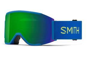 SMITH 2022 SQUAD MAG ELECTRIC BLUE CHROMAPOP SUN GREEN MIRROR