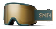 SMITH 21 SQUAD M00668 SPRUCE / SAFARI CHROMAPOP SUN BLACK GOLD MIRROR