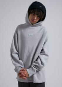 AFENDS INDUSTRY - UNISEX PULL ON HOOD - GREY MARLE