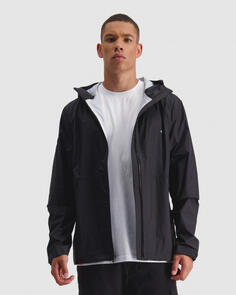 HUFFER MENS 2.5LHFR RAINSHELL BLACK 2