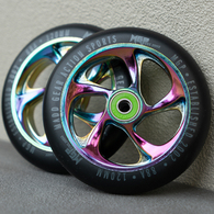 MGP 120MM CARTEL WHEEL NEO CHROME 2 PACK