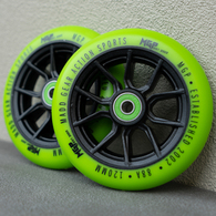 MGP 120MM SYNDICATE WHEEL GREEN 2 PACK