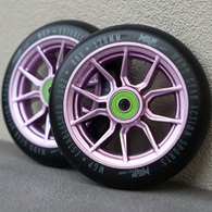MGP 120MM SYNDICATE WHEEL PURPLE 2 PACK
