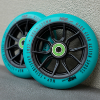 MGP 120MM SYNDICATE WHEEL TEAL 2 PACK