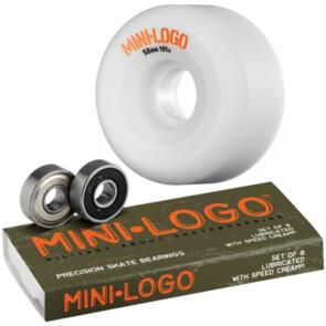 MINI LOGO A-CUT 58MM X MINI LOGO BEARINGS