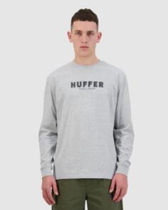 HUFFER LS SUP TEE/THIRD BASE GREY MARLE