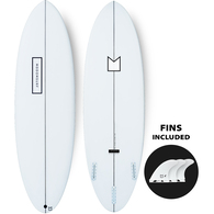 MODOM BY DHD 6'4 PU MOD MINI WITH FINS