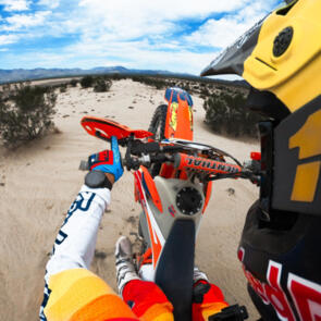 GOPRO HERO 9 MOTO PACKAGE HELMET FRONT/SIDE MOUNT + CHESTY