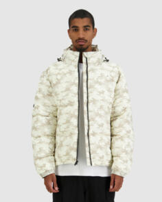 HUFFER 2021 MENS NO COMPLY PUFFER JACKET SAND CAMO