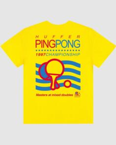 HUFFER MENS SUP TEE/PING PONG SPECTRA