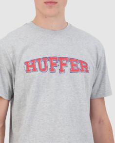 HUFFER SUP TEE/IN BLOOM GREY MARLE