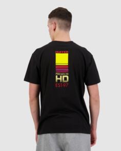 HUFFER SUP TEE/HI DEF BLACK
