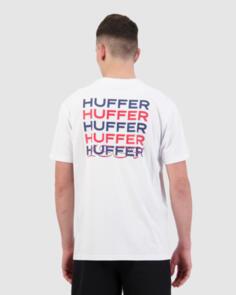 HUFFER SUP TEE/PILE WHITE