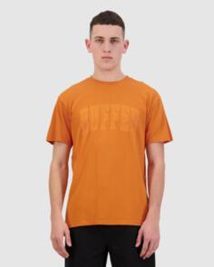 HUFFER SUP TEE/MONO ORANGE
