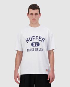 HUFFER FREE TEE/3 BALLER WHITE