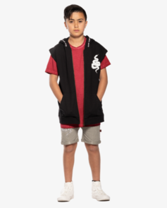 BANDIT BY BAND OF BOYS RED ANACONDA SLEEVELESS COMBO