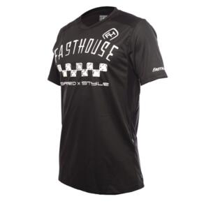 FASTHOUSE ALLOY NELSON SHORT SLEEVE JERSEY BLACK