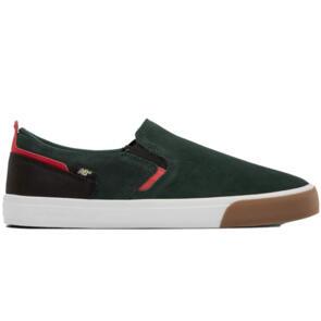 NEW BALANCE 306 JAMIE FOY SLIP GREEN RED SUEDE