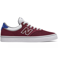 NEW BALANCE SKATE 255 BURGUNDY WHITE