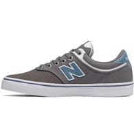 NEW BALANCE SKATE 255 GREY / WHITE / LIGHT BLUE