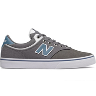 NEW BALANCE SKATE 255 GREY WHITE LIGHT BLUE