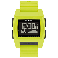 NIXON BASE TIDE PRO WATCH LIME